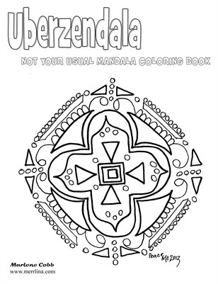 Uberzendala - Not your usual coloring book