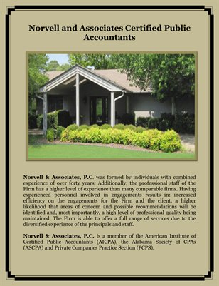 Norvell and Associates Certified Public Accountants