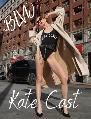 The BLVD Magazine Vol. 35 Featuring Kate Cast