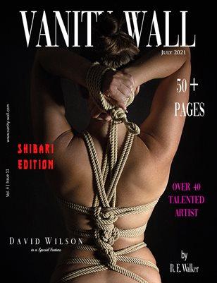 Vanity Wall Magazine | SHIBARI EDITION | JULY 2021 | Vol. ii Issue 11