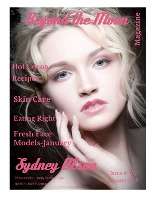 Beyond the Moon Magazine-Fresh Face January 2018