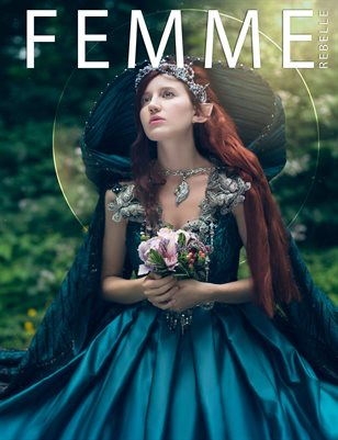 Femme Rebelle Magazine October 2018 BOOK 1 - Simon Clarke Cover