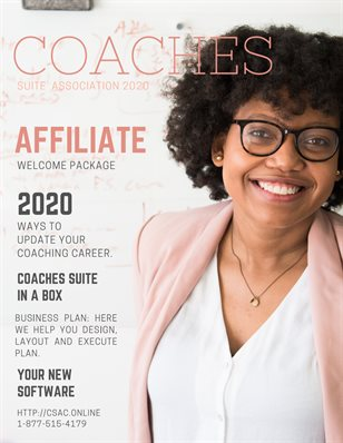Affiliate and Coaches Suite in a Box welcome package