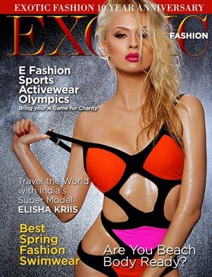 EXOTIC Fashion Magazine Swimsuit Issue 2016