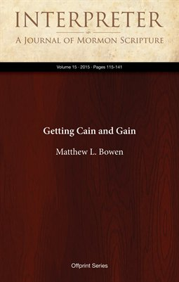 Getting Cain and Gain
