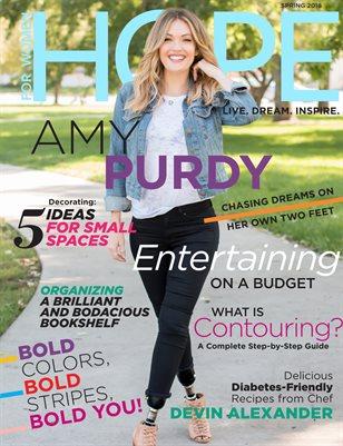 Spring 2018 - Amy Purdy