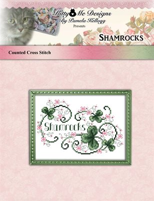 Shamrocks Cross Stitch Pattern