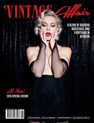 Vintage Affair Magazine   Lingerie Edition 2016