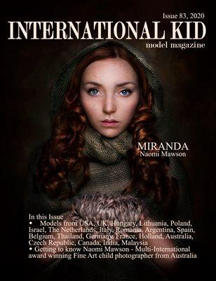 International Kid Model Magazine Issue #83