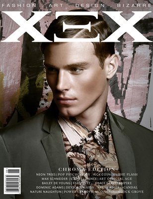 XEX Magazine: Chroma - Fit In Print