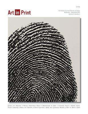 Art in Print, Volume 5/Issue 4