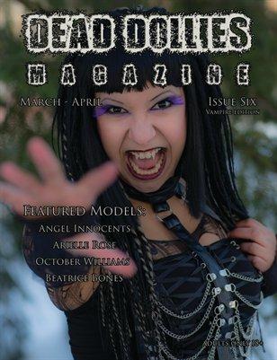 Dead Dollies Magazine Issue 6 Vampires