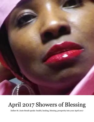 APRIL 2017 SHOWERS OF BLESSINGS