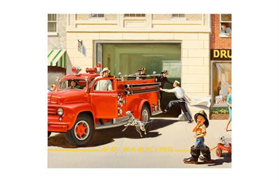 Boy at The Firehouse