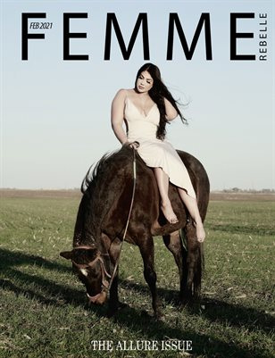 Femme Rebelle Magazine February 2021 ALLURE ISSUE - Marco Hanson Cover