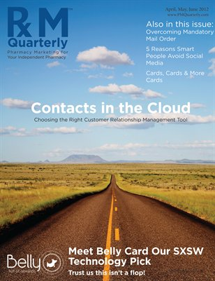 Pharmacy Marketing Quarterly - April 2012