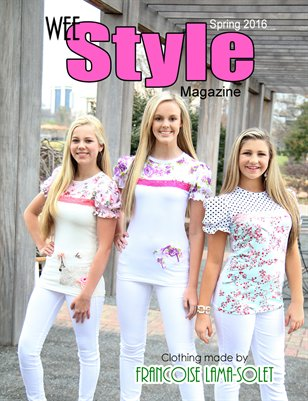 Wee Style Magazine Spring 2016
