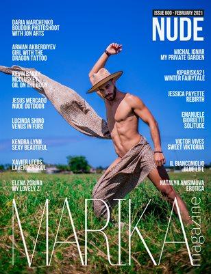 MARIKA MAGAZINE  NUDE (ISSUE 600 - February)