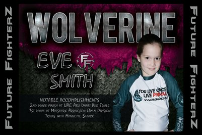 Eve WOLVERINE Smith Poster