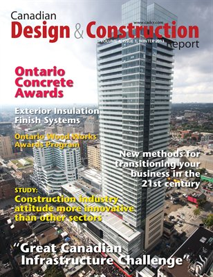 Canadian Design and Construction Report: January 2013