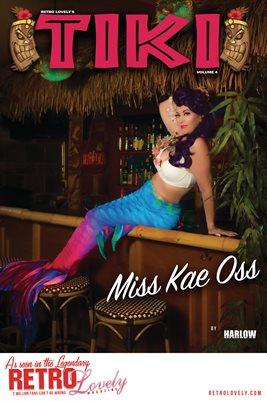 TIKI Volume 4 - Miss Kae Oss Cover Poster