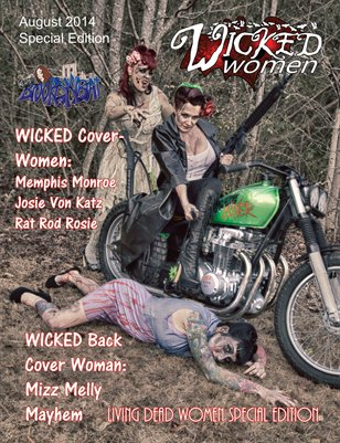 WICKED Women Magazine- Living Dead Women Special Edition- August 2014
