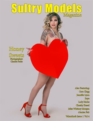 Sultry Models Magazine Valentine's Issue 1 Vol 4