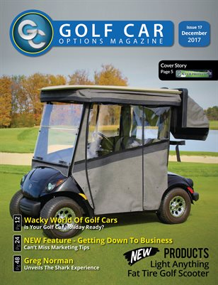 Golf Car Options Magazine - December 2017