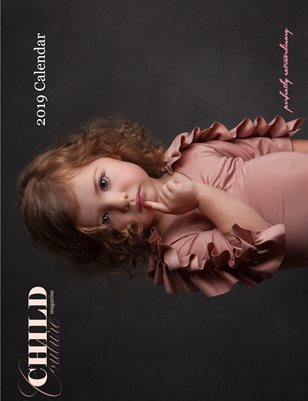 Child Couture magazine Official 2019 Calendar