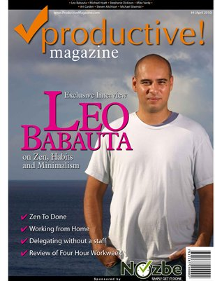 Leo Babauta, Simplicity and Working from Home