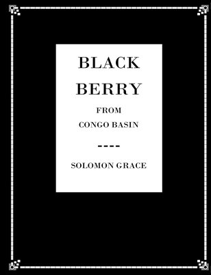BLACK BERRY FROM CONGO BASIN