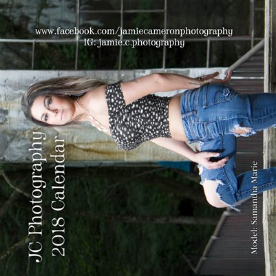 2018 JC Photography Calendar