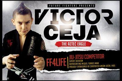 Victor Ceja BJJ - Poster