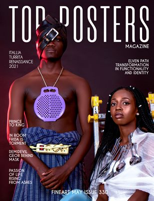 TOP POSTERS MAGAZINE- FINEART MAY (Vol 330)