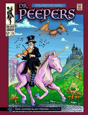 Dr. Peepers Steampunk Hero Variant Cover