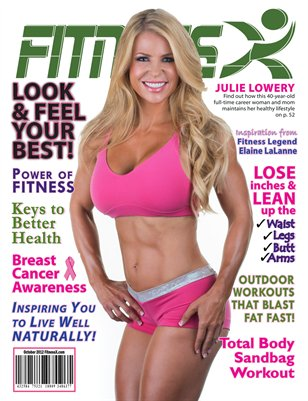 FitnessX Magazine for October 2012