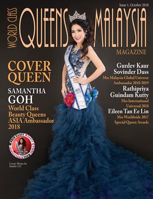 World Class Queens of Malaysia Magazine Issue 1 with Samantha Goh
