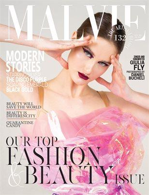 MALVIE Magazine The Artist Edition Vol 132 January 2021