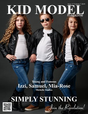 Kid Model magazine Simply Stunning Edition Issue 13 Volume 7 2019