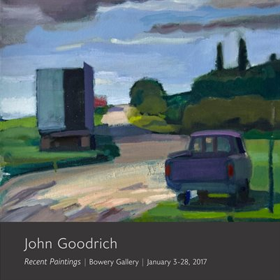 John Goodrich: Recent Paintings