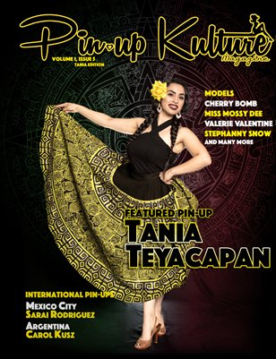 Pin-up Kulture Magazine Volume 1, Issue 5 (Tania Edition)