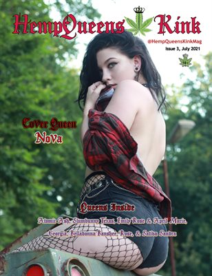 HempQueens Kink Magazine ~ Issue 3  ~ Nova