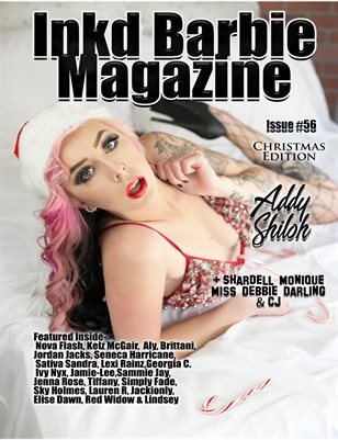 Inkd Barbie - #56 - Christmas - Addy Shiloh