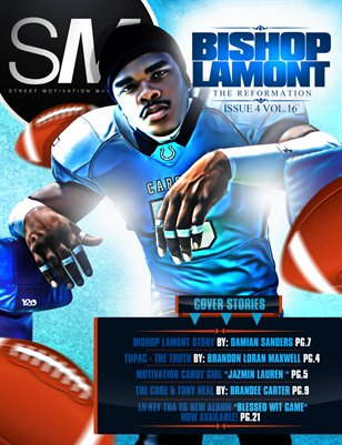 Issue 4 Vol 16 feat. Bishop Lamont