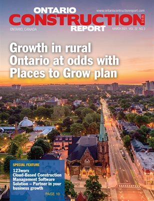 Ontario Construction Report (March 2021)