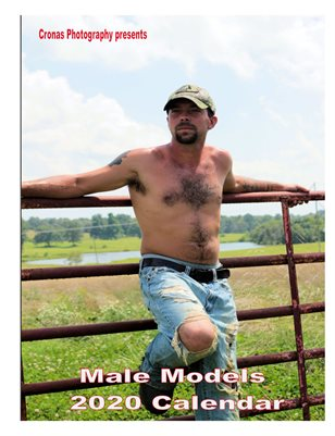 2020 Male Models calendar