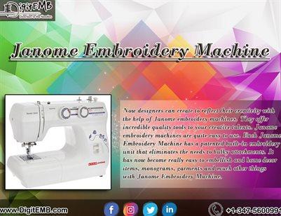 Janome Embroidery Machine