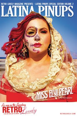 Latina Pinups Special Edition Vol.2 – Miss Elvi Pearl Cover Poster