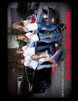 IIDM RIDES Europe Edition 2015 Jeans and Rides Calendar