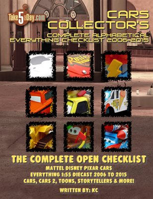 The Complete Everything CARS Open Checklist 2006-2015